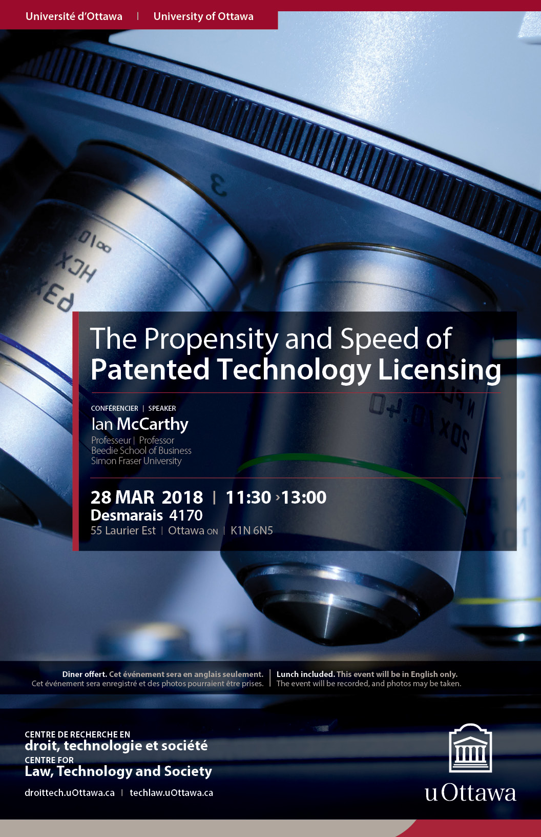 Ian McCarthy The Propensity And Speed Of Patented Technology Licensing