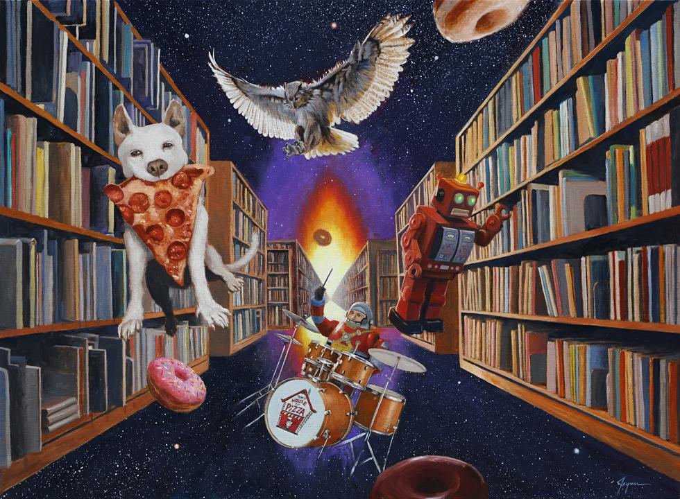 Endless Knowledge by Eric Joyner
